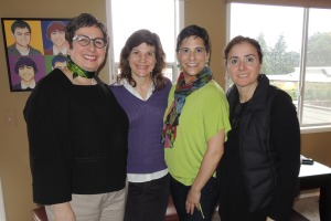 Diana, Steph, Dana, Mariam