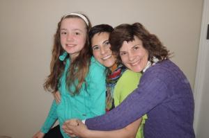 Maddy, Dana, Steph