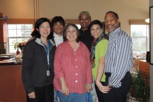 Celia, Rick, Marilyn, Randy, Dana,Mathis