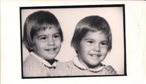 Dana and Tracy Babies_1961