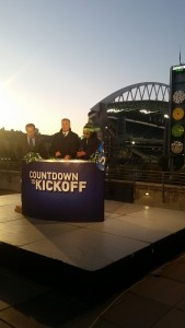 King5 live outside the stadium for game day