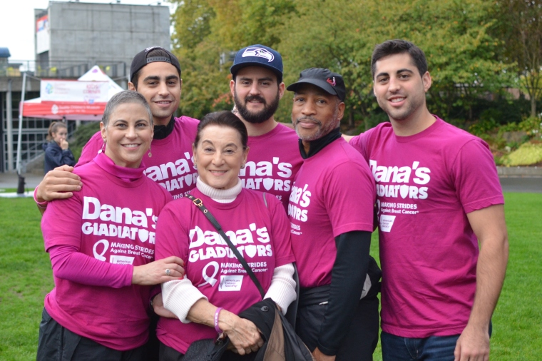 "Last Year's ""Making Strides Against Breast Cancer"" Walk in Seattle"